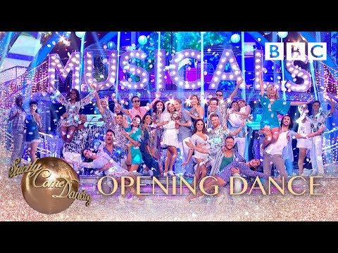 Strictly pros, celebrities & judges perform Mamma Mia Megamix from Mamma Mia - BBC Strictly 2018_Celebek. Heti legjobbak