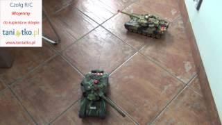 Zestaw 2x zdalnie sterowany czołg RC WAR TANK