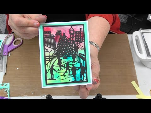 #261 NEW Simply Defined Dies & Alcohol Ink Look Without the Alcohol by Scrapbooking Made Simple