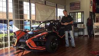 10. Introducing the new Slingshade from Polaris on our 2018 Slingshot SLR!