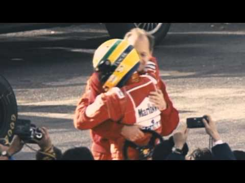 Tribute - The magic driver Ayrton Senna Da Silva, the most talented driver in the history of F1 and Motorsport.