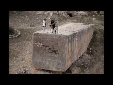 Kdo a jak přemisťoval obří kvádry v Baalbeku?