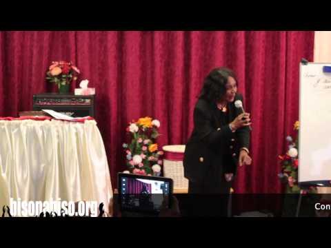 Evangeliste Colette ILAKA - Convention des mamans à Dijon
