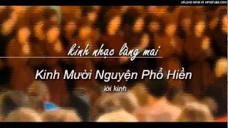 Kinh Mười Nguyện Phổ Hiền - Kinh Nhạc Làng Mai