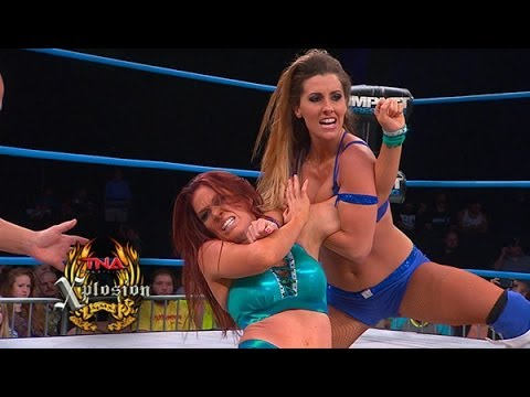 madison - Brittany takes on Madison Rayne on Xplosion. For more information go to http://www.impactwrestling.com For Merchandise go to http://www.shoptna.com #510.