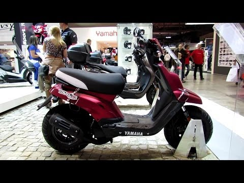 2014 Yamaha BW'S 50 Scooter Walkaround - 2013 EICMA Milano Motorcycle Exhibition
