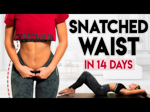 SNATCHED WAIST in 14 Days | 6 minute Home Workout Challenge