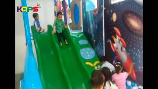 Kids Playing In Indoor Playground