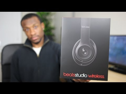 beats - My unboxing of the new bluetooth headphones by Beats, the new Beats Studio Wireless. Find it here: http://amzn.to/1cmdWKo Liked this video? Then hit the thum...