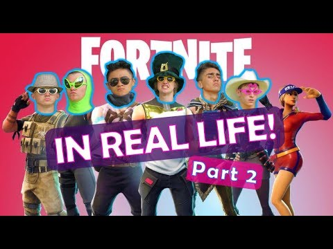 Fortnite In Real Life 2!