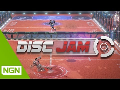 Disc Jam - a fun, new arcade-style sports game! | PAX West 2016