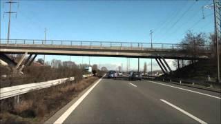 From Geneva To Lausanne  /Autobahn  A1 / Switzerland / 12.2010 / 1080p HD