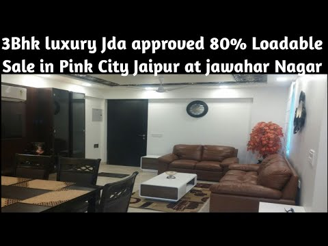 3Bhk Jda Approved Ready To Shift in at Jawahar Nager in Jaipur City I Luxury Living Lifestyle