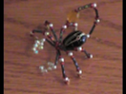 How to Make a Beaded Scorpion
