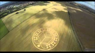Devizes United Kingdom  city pictures gallery : Crop Circle - Monument Hill, Devizes, Wiltshire, United Kingdom. August 2013