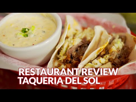 Restaurant Review - Taqueria Del Sol, Mexican | Atlanta Eats