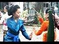 JAVANESE DANCE - Yogyakarta KRATON Palace - Tari Klasik Jawa [HD]