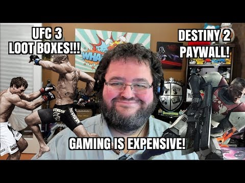 Gaming News: Destiny 2 PAYWALLS Old Content, UFC3 Has Loot Boxes, and more!