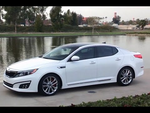 2015 Kia Optima Start Up and Review 2.4 L 4-Cylinder