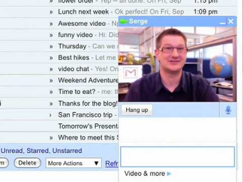 google chat - Talk face to face right in Gmail with free, high quality video and audio. Get started at http://gmail.com/videochat.