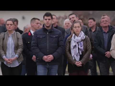 LokalnaHrvatska.hr Jastrebarsko Svecano otkrivanje spomenika biskupa Martina Borkovica, Grad Jastrebarsko