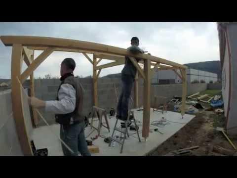 comment construire un abri buches
