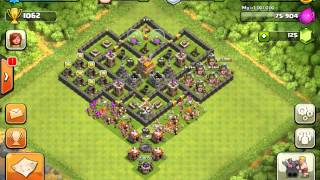 Clash of Clans - Great Level 7 Town Hall Defense Strategy #3