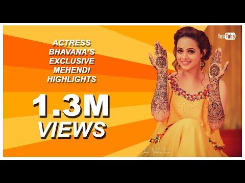 ACTRESS BHAVANA'S MEHNDI TEASER | OFFICIAL VIDEO