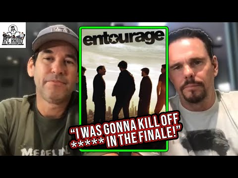 Who Was Almost KILLED OFF Entourage in the Series Finale?! - Doug Ellin & Kevin Dillon on KFC Radio