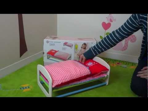 HABA Doll Bed Flower Burst
