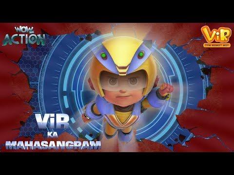 Vir Ka Mahasangram | Vir : The Robot Boy | Action Movie | WowKidz Action