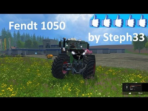 FENDT 1050 VARIO GRIP V3.8 by STEPH33
