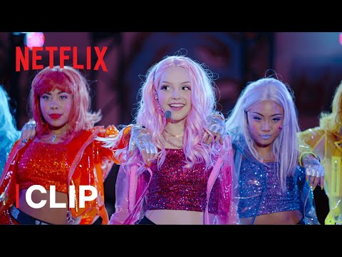 Dirty Candy Performs 'Wow' Clip | Julie and the Phantoms | Netflix Futures