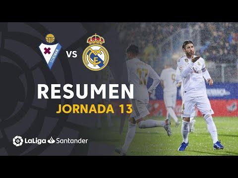 Resumen de SD Eibar vs Real Madrid (0-4)