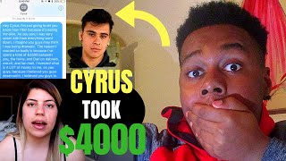 CYRUS AND CHRISTINA SCAMMED A FAN?!- EXPOSING DOBRE BROTHERS REACTION