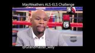 Flyod Mayweather Finally Respond To 50 cents ALS-ELS Ice Bucket Challenge