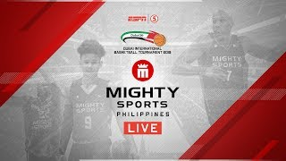 Mighty Sports Philippines vs. AU Dubai | 2019 Dubai International Basketball Championship
