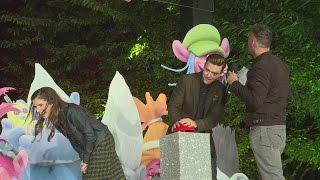 Anna Kendrick & Justin Timberlake fail to light up the London Eye at Trolls event
