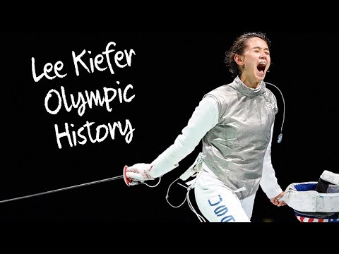 Lee Kiefer Makes Olympic History in Women's Fencing at Tokyo Olympics First US Fencing Medal #shorts