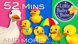 Download LBB videos  https://bamazoo.com/littlebabybumPlush Toys: http://littlebabybum.com/shop/plush-toys/© El Bebe Productions Limited00:04 Five Little Ducks - Part 202:11 Wheels On The Bus - Part 1404:09 Copy Me Song06:59 Ten Little Baby Bum Friends08:36 The Color Train Song - Part 210:25 The Moon Song12:06 A Sailor Went To Sea13:47 This Little Piggy15:26 Ten Little Buses17:42 Ice Cream Song19:04 Old Mother Hubbard20:38 Here We Go Looby Loo22:25 ABC Song In Outer Space24:32 Shapes Train Song26:37 Three Little Kittens - Part 228:51 Little Miss Muffet30:24 Wind The Bobbin Up32:19 Star Light Star Bright34:12 The Bear Went Over The Mountain36:02 Mr Sun37:46 Wheels On The Bus - Part 739:41 BINGO - Part 241:59 Numbers Song 1-10 - Part 244:02 Itsy Bitsy Spider - Part 245:28 Big & Small47:15 Hot Cross Buns48:31 Sharing Song50:17 Twinkle Twinkle Little Star - Part 3 India
