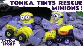 Tonka Tinys Rescue Minions