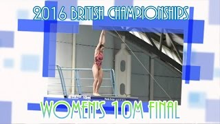 All the dives from the Women's 10M final. Sarah wins the title under great pressure - but who will take the other medals?