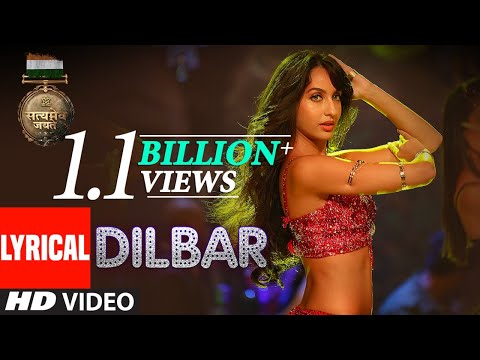 Download DILBAR Lyrical | Satyameva Jayate |John Abraham, Nora Fatehi,Tanishk B, Neha Kakkar,Dhvani, Ikka HD Mp4 3GP Video and MP3