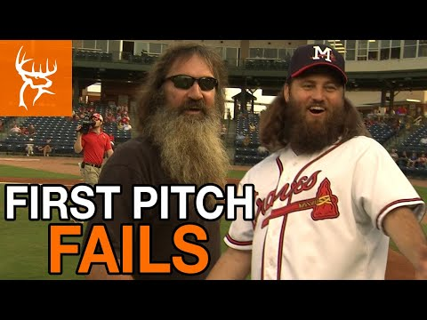 FIRST PITCH FAILS | Phil and Willie Throw Out First Pitch | Full Episode