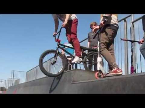 Dan's Den SkatePark in Colwyn Bay Conway County