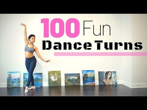 100 Fun Dance Turns