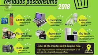 Cápsula Informativa Corpoboyacá Semana del 20 al 25 de Mayo de 2018