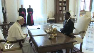 Pope Francis today received in audience the President of the Republic of Equatorial Guinea. On the occasion, the Agreement...