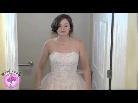 Свадебное платье в котором можно ходить в туалет (видео)