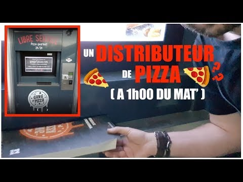 UN DISTRIBUTEUR DE PIZZA ( WTF ? )